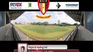 Hayes & Yeading Stadium Video Update July 2015