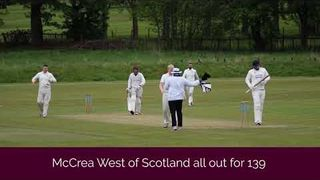 Drumpellier vs McCrea West of Scotland (18th May 2019)