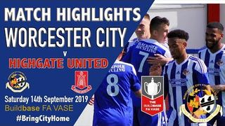 Worcester City 2 Highgate United 0 #FAVASE