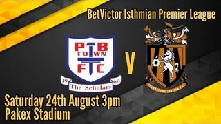 Potters Bar 1-4 Folkestone Invicta 24/8/2019
