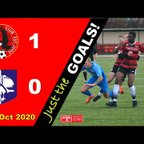 Just the Goals Vrs Marlow FC - Isthmian League - 24th Oct 2020, 15:00