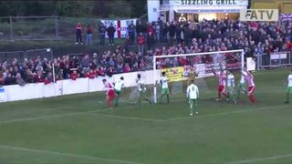 Stourbridge vs Biggleswade Town 4-1, FA Cup First Round Proper 2013-14 highlights