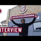 Dara Dada's first interview as a Chelmsford player