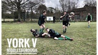 14 April 2019 - York 52 v 7 Middlesborough (u15s)