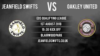 Oakley United F.C. Vs. Jeanfield Swifts F.C. 1-3 | East of Scotland Cup Qualifier