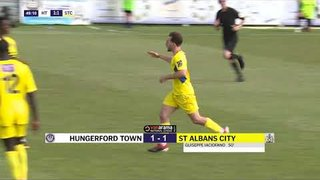 2019 09 07 Hungerford Town v St Albans City Highlights