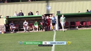 Buckie Thistle vs Nairn County | Highlights | Breedon Highland League | 12 October 2019