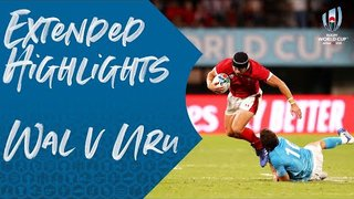 Extended Highlights: Wales v Uruguay - Rugby World Cup 2019