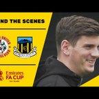 BEHIND THE SCENES   Ashton United 0-1 Hebburn Town