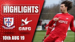 Match Highlights: Potters Bar Town vs Carshalton | 10.08.19