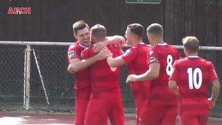 AFC Hornchurch 1 Bognor Regis Town 1 (25 Aug 18) - Marks goal