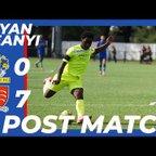 Post Match Interview | Brian Ifeanyi vs Romford
