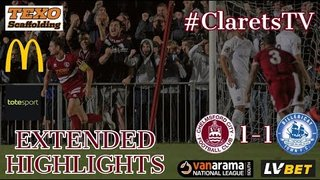 EXTENDED HIGHLIGHTS: Chelmsford City 1-1 Billericay Town - 02/09/2019