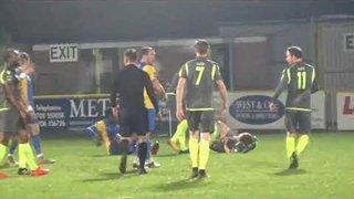 Romford FC V Grays Ath Essex senior cup Quarter Finals