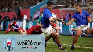 Rugby World Cup 2019: Russia vs. Samoa | EXTENDED HIGHLIGHTS | 9/24/19 | NBC Sports