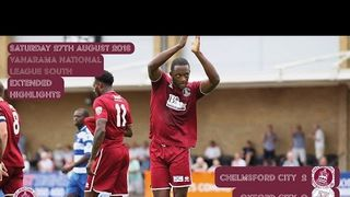 Highlights - Chelmsford City vs Oxford City