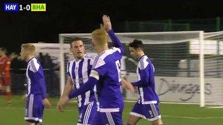 Haywards Heath vs Brighton and Hove Albion - 3rd January 2018