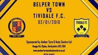 Belper Town 3 - 0 Tividale 2nd January 2016 Highlights