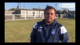 Post Match interview: James Wakeling - Hullbridge Sports vs Tilbury