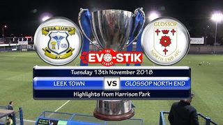 Leek Town v Glossop North End 13/11/18