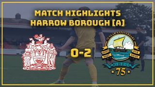 MATCH HIGHLIGHTS| Harrow 0-2 GOSPORT