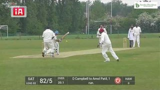 Amol Patil Maiden Fifty