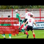 MATCH HIGHLIGHTS | Witton Albion vs Atherton Collieries (24/10/20)