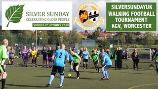 Walking Football SILVERSUNDAY Tournament 2019