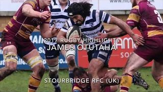 2017 James Otutaha Rugby Highlights