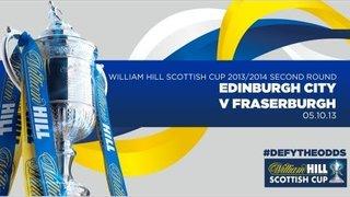 Edinburgh City 4-4 Fraserburgh // William Hill Scottish Cup Second Round