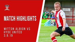 MATCH HIGHLIGHTS | Witton Albion 2-0 Hyde United