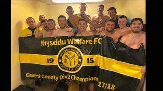 Ynysddu Welfare 2017/18