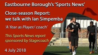 'Sports' News: Ian Simpemba Talks About His First Year as Player/Coach and the New Season
