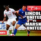 Lincoln United vs Marske United - The Pitching In Northern Premier League | Highlights