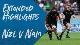 Extended Highlights: New Zealand v Namibia - Rugby World Cup 2019