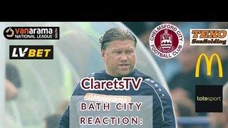 REACTION: Rod Stringer - Post Bath City (H) - 31/08/2019