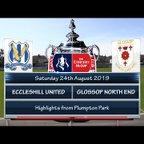 Eccleshill United v Glossop North End 24/08/19