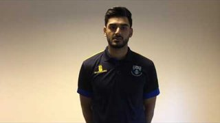 Safyaan Sharif Joins Glenrothes Cricket Club