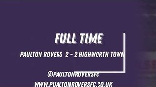 Paulton Rovers 2 - 2 Highworth Town (15th December, 2018)