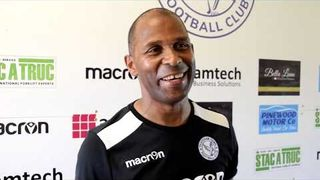 Thatcham Town FC vs Andover New Street FC | Keith Pennicott-Bowen Interview