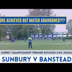 HIGHLIGHTS!  Surrey Championship GW2 - Sunbury v Banstead