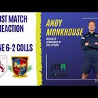 Post Match Reaction | Andy Monkhouse discusses our 6-2 defeat at Colne