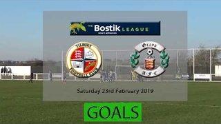 Goals Tilbury fc v Grays Athleic FC Bostik North23/2/29