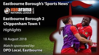 'Sports News': Eastbourne Borough 2 v 1 Chippenham – Vanarama National League South Highlights