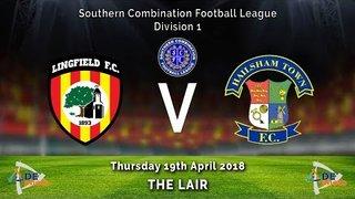 Lingfield FC  3v1  Hailsham Town - League - 19-04-2018
