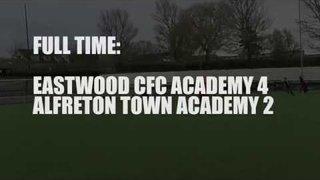 Eastwood CFC 4-2 Alfreton Town Academy - Match Highlights