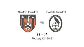 Stratford Town Vs Coalville Town Highlights 12:02:19