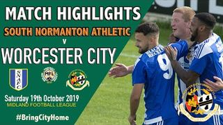 South Normanton Athletic 1 Worcester City 1  19-10-19