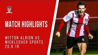MATCH HIGHLIGHTS | Witton Albion 1-0 Mickleover Sports
