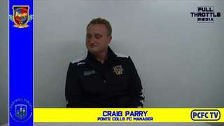 Ponte vs Pickering Town Craig Parry reaction 28th Sept 2019